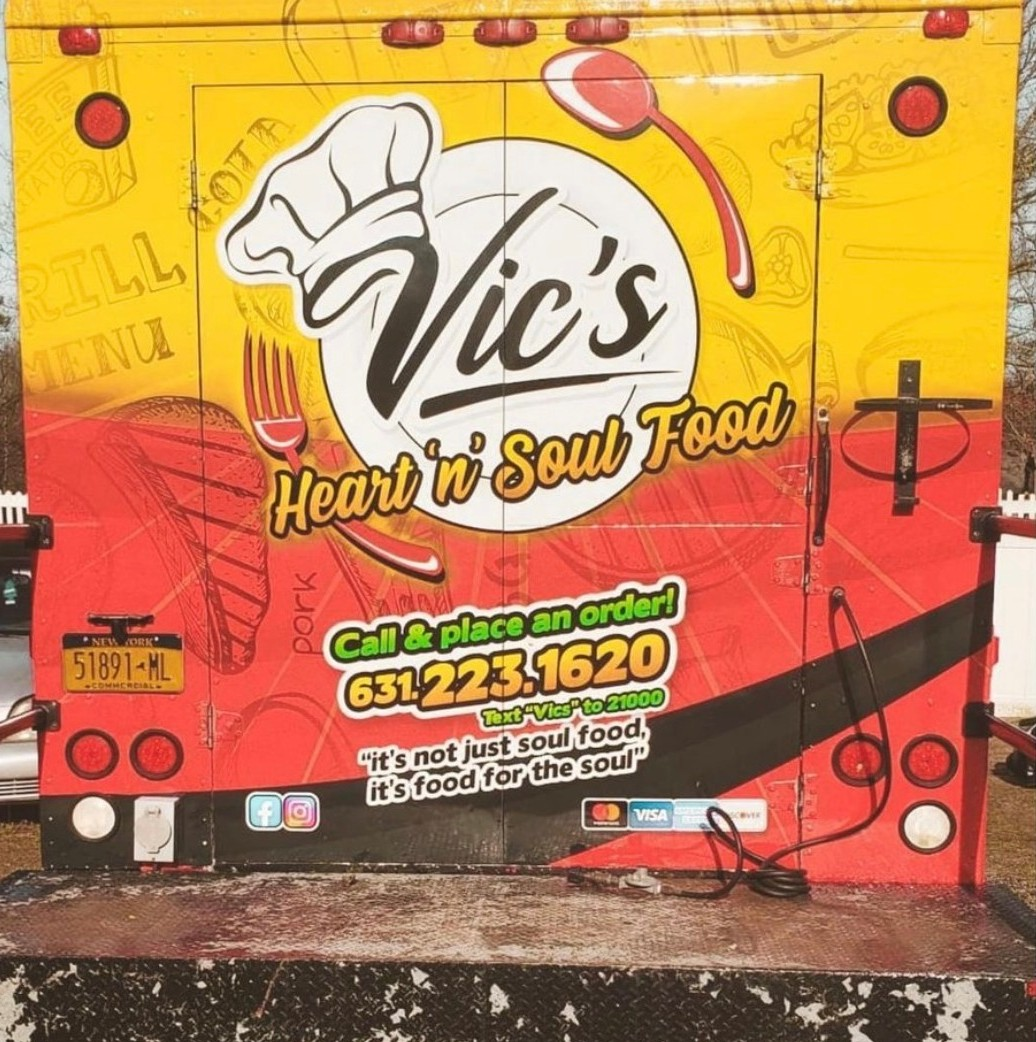 Vic's Back Truck Cover
